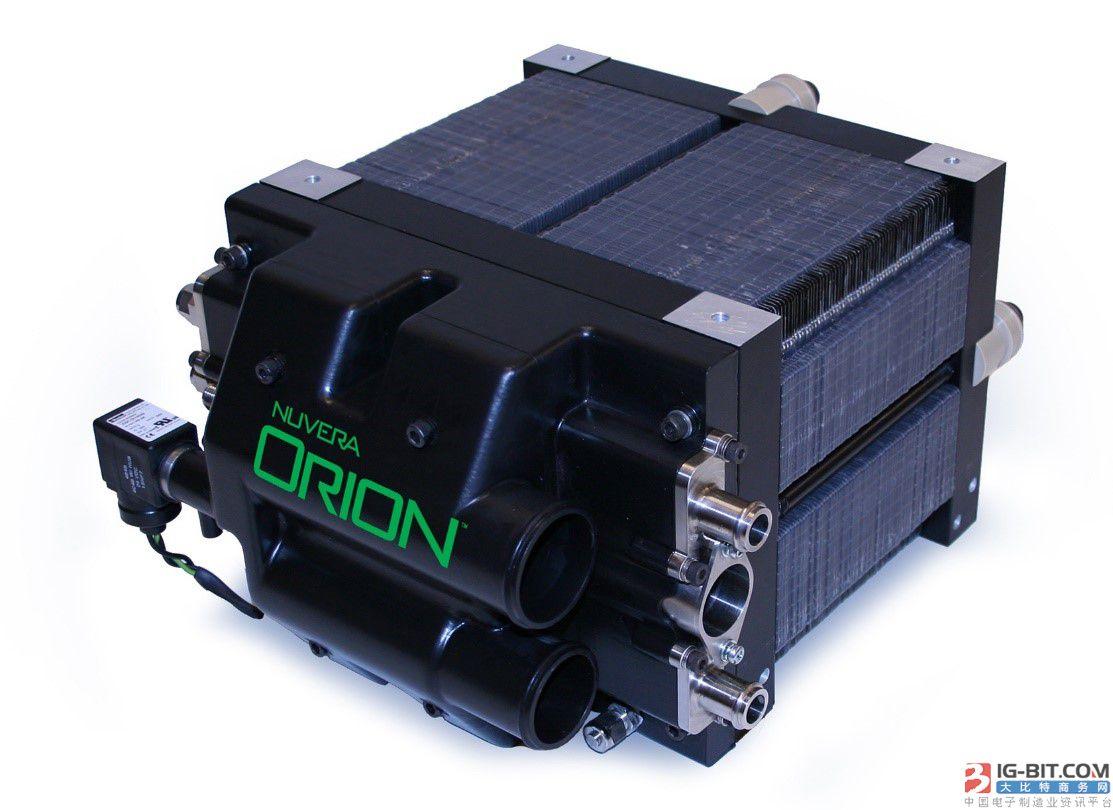 美国推出可用于冷链运输的燃料电池.