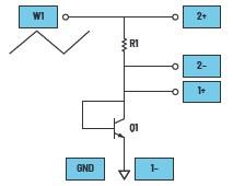 学子专区—ADALM2000实验:将BJT连接为二极管