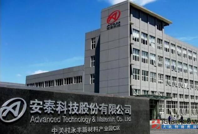 安泰科技:公司目前已有授权专利443项