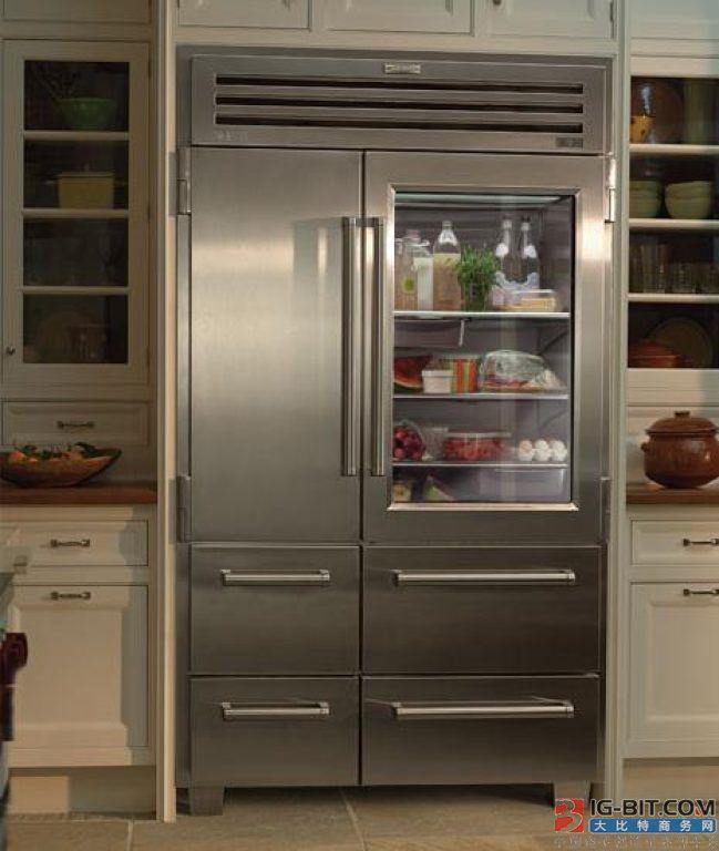 """嵌入式冰箱让家电从""""大客厅""""回归""""大厨房"""""""