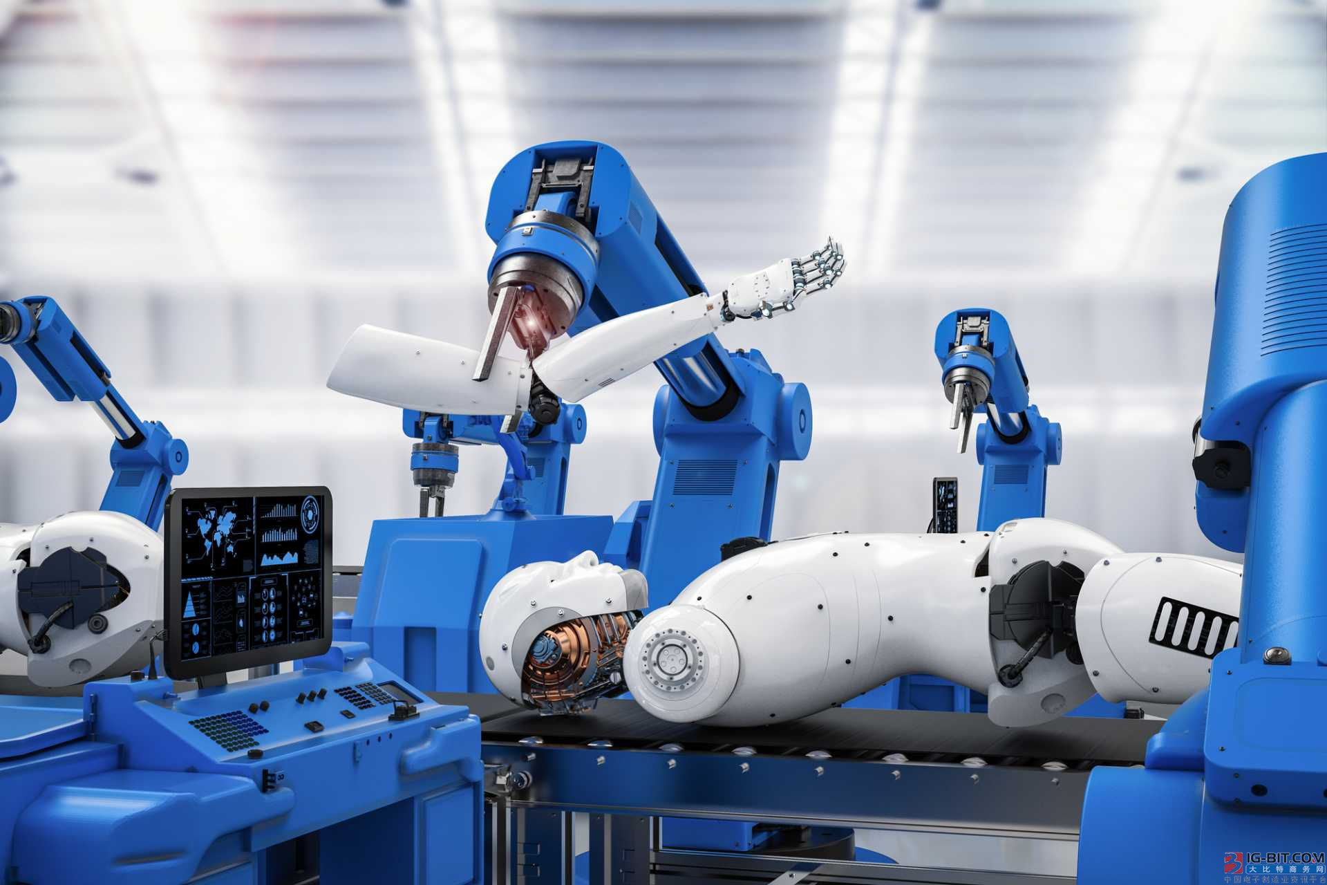 工业自动化技术软件、硬件和系统三大模块,一体机主占两部分!