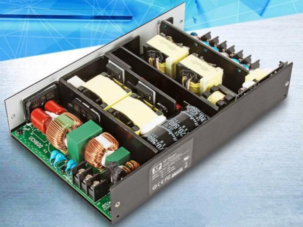XP Power推chu600W无feng扇AC-DC电源,符合医疗和通讯/工ye应yong