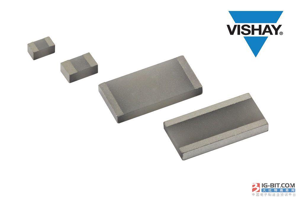 Vishay推出的新型ThermaWickÔ表面贴装热跳线片式电阻可消除电气隔离元件热量
