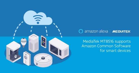 联发科携手亚马逊推出智能音箱双麦克风解决方案