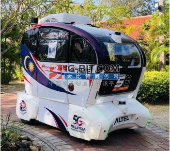 先锋3D-LiDAR子公司在马来展示5G自动驾驶小巴