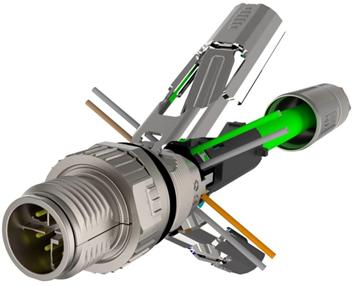 工业机器人和自动化设备连接器