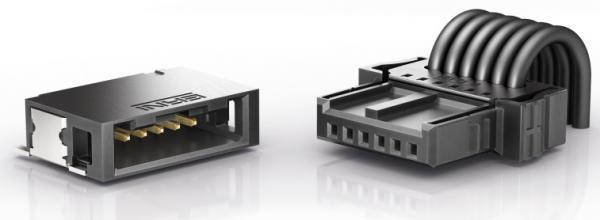 坚固可靠!ERNI推出用于汽车行业的MicroBridge线对板连接器