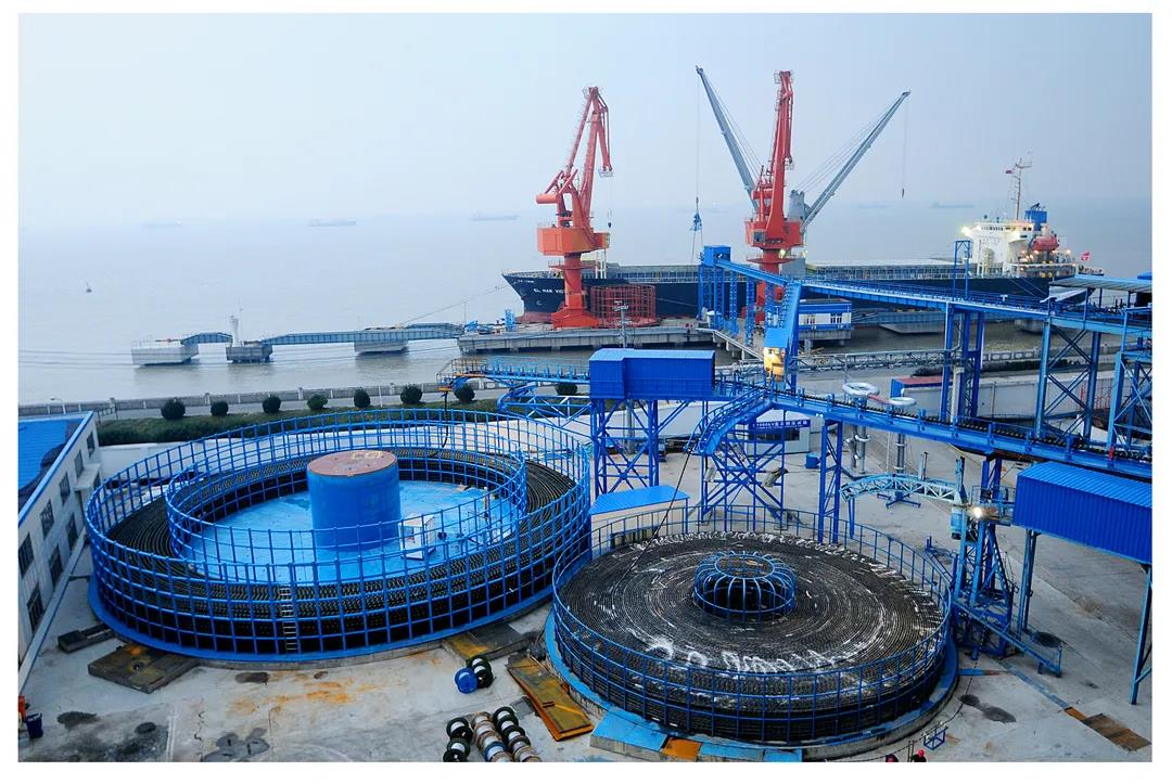 中天科技海缆码头