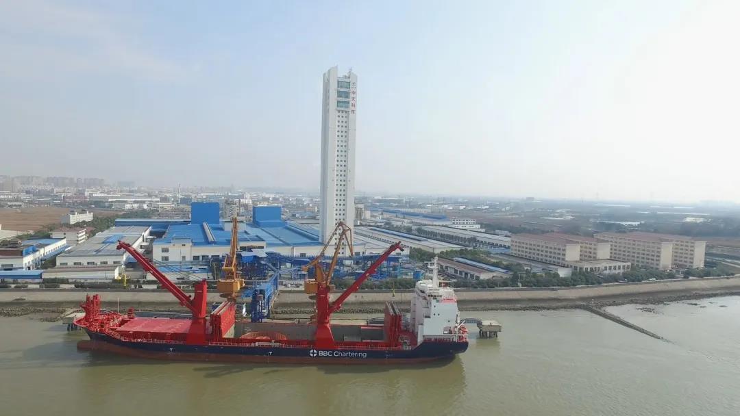 中天科技交付德电155kV海缆总包项目产品