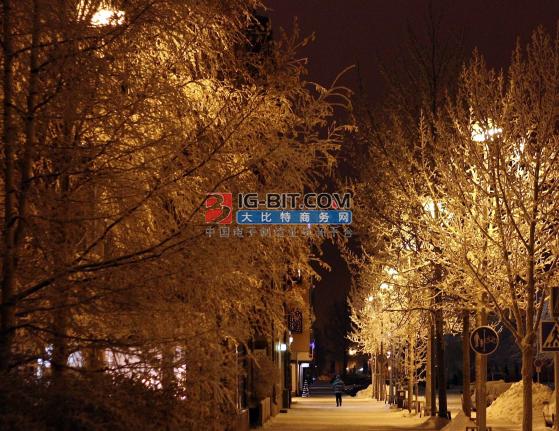 烟台莱州:市区主干道路基本实现LED路灯照明