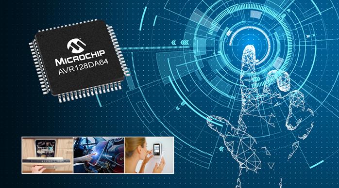 Microchip推出全新功能安全型AVR® DA系列单片机
