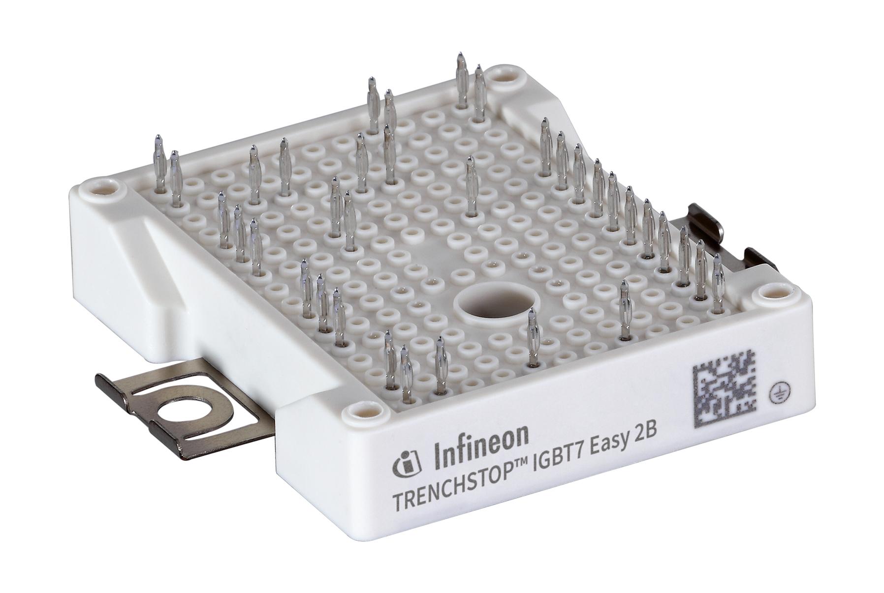 功率扩展:TRENCHSTOP™ IGBT7 Easy产品系列推出新的电流额定值模块