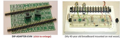 如何解决该棘手问题:在模niban上对超密脚距的微封装芯片做实yan
