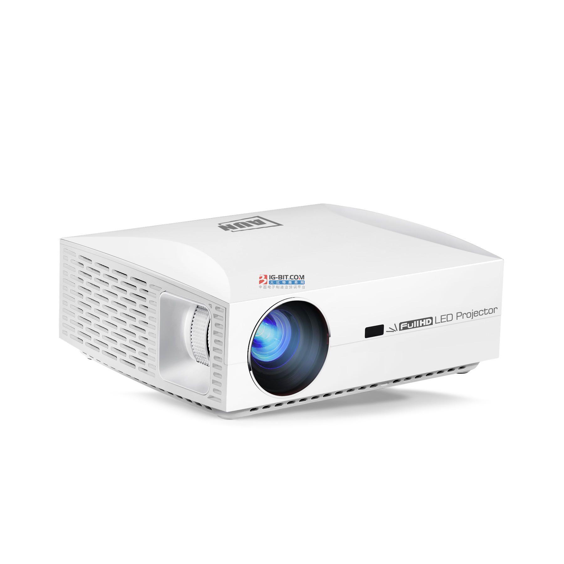 腾讯极光T5投影仪 0.47DMD真1080p高清震撼来袭