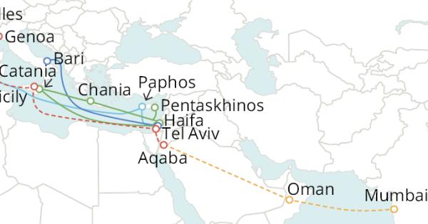 谷歌正在筹建连接意大利、以色列和印度的海缆系统