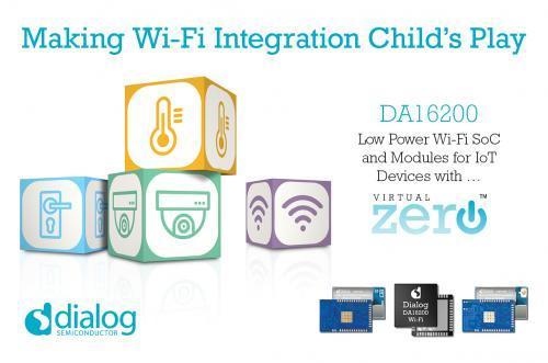 Dialog半导体推超低功耗Wi-Fi技术,彻底解决无线网络的各类弱点