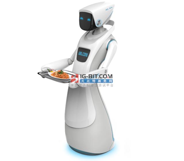 疫情下餐飲新趨勢:無接觸式送餐機器人成新寵
