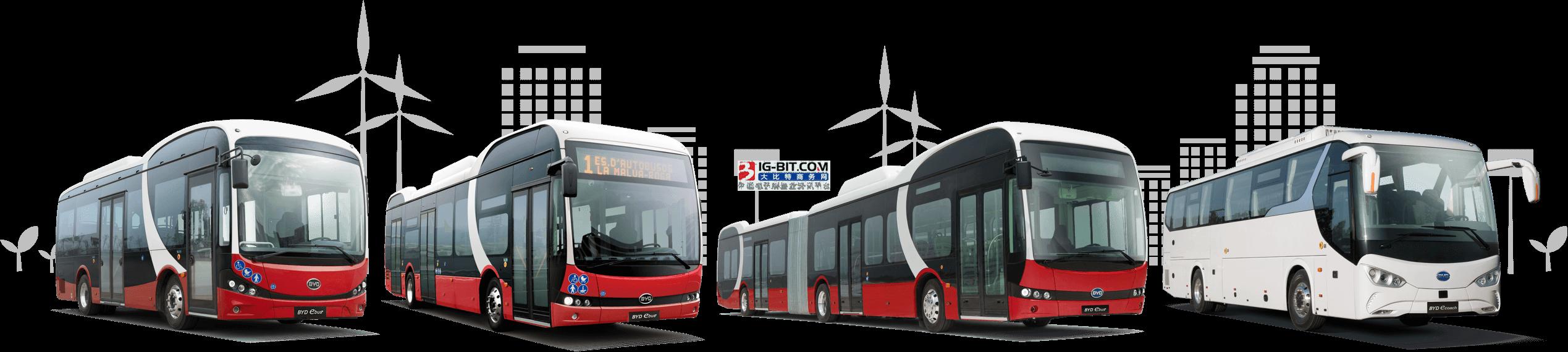 比亚迪驶入巴西首个纯电动快速公交系统