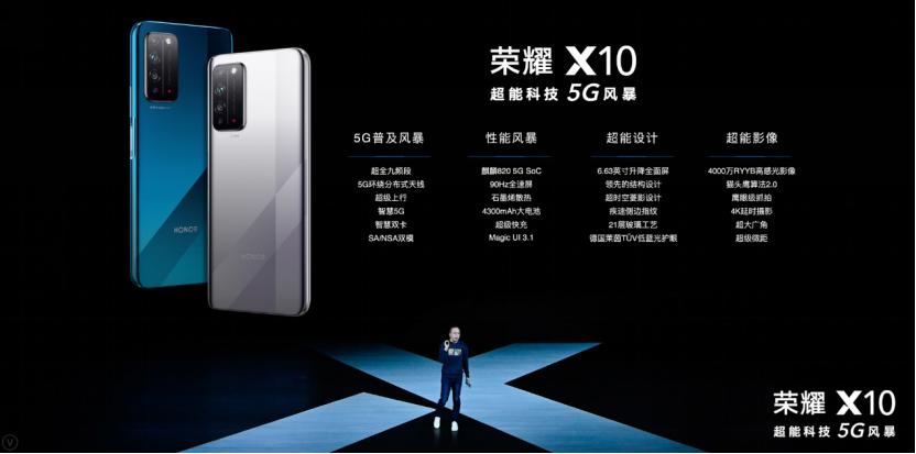 榮耀X10發布,2020年5G手機戰場迎來真正拐點