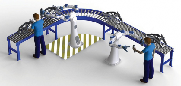 图 5.未来的机器人将与人类有更多的交互。