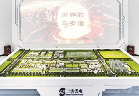 三安光电全球首个大规模小间距微光电芯片项目预计明年初一期投产