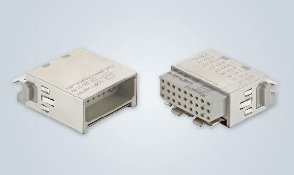浩亭推出用于电源和信号的新型屏蔽模块
