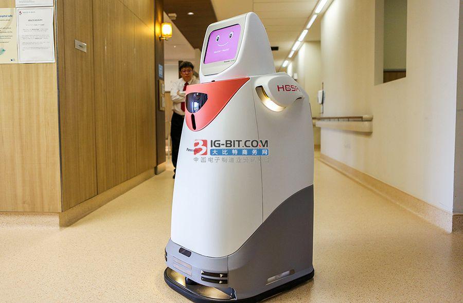 """載重150公斤、能自己""""坐""""電梯 這種送藥機器人你見過嗎?"""