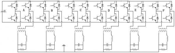 基于雙閉環數字控制的組合式六相逆變器仿真研究