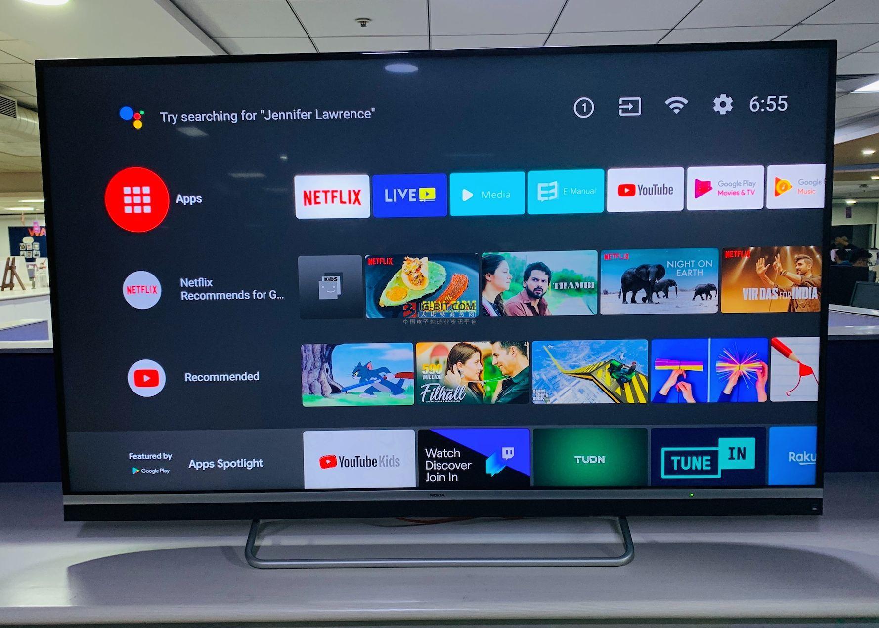 諾基亞將推出全新智能電視:43英寸4K屏