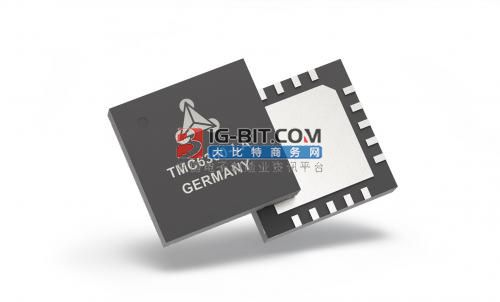 Trinamic推出三組BLDC/PMSM電池供電電機的高效驅動器