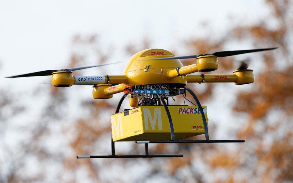 新突破!商用无人机送货又向前迈进了一步
