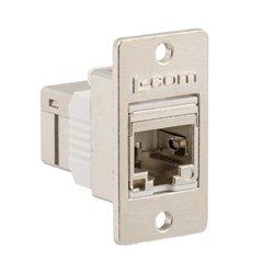 L-com推出了新型压铸超六类/7类馈通RJ45耦合器