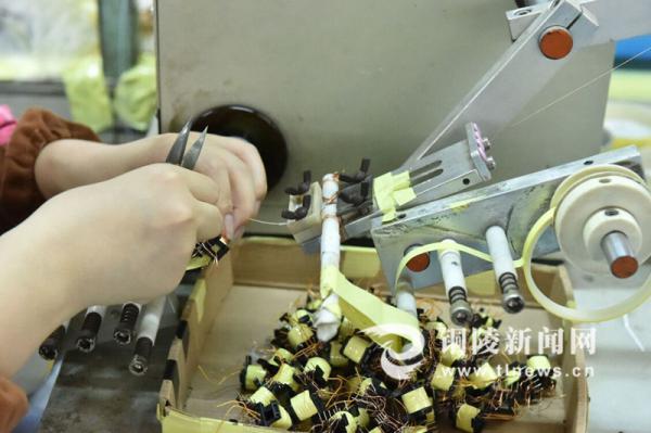 电子变压器生产