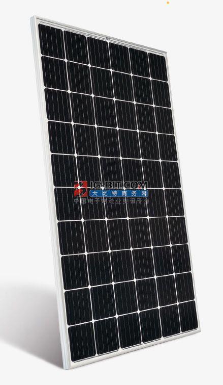 环晟光伏功下线首块G12高效叠瓦组件