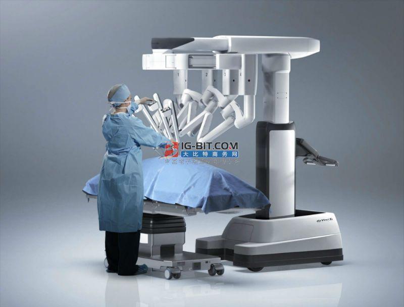 """全球最新第四代""""達芬奇""""手術機器人在江西省腫瘤醫院啟用"""