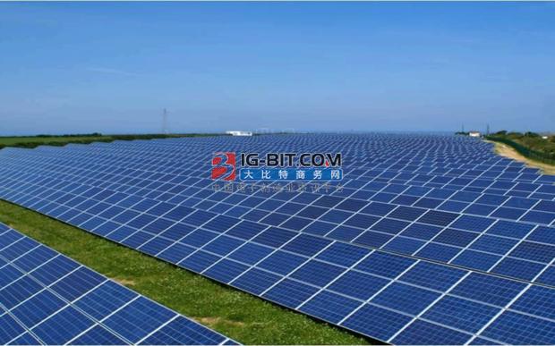 白城二期100MW光伏发电领跑者基地项目并网发电