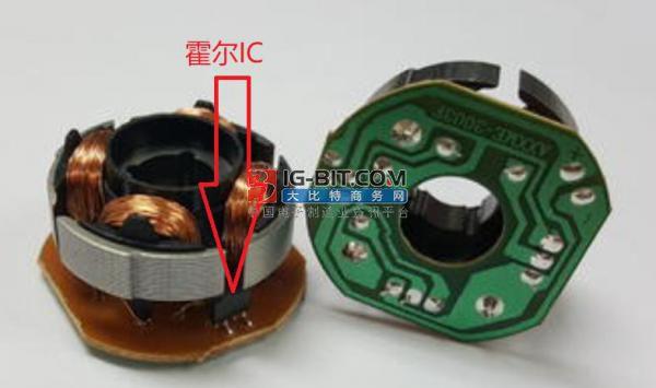霍爾芯片在電機中的應用