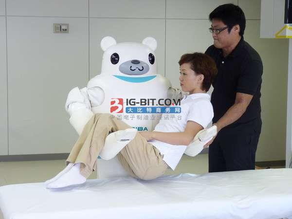 護理機器人主機采用微電腦控制技術