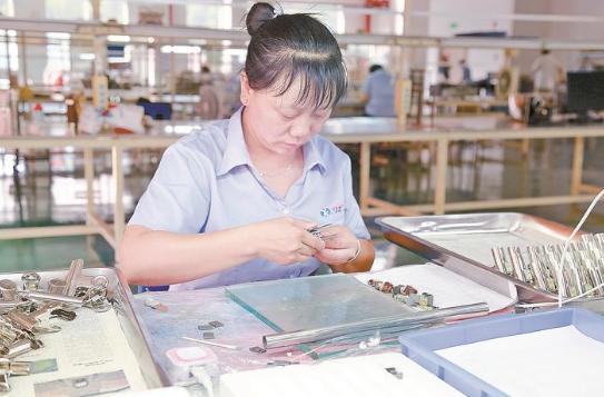 清流:山海协作 引来高新产业项目