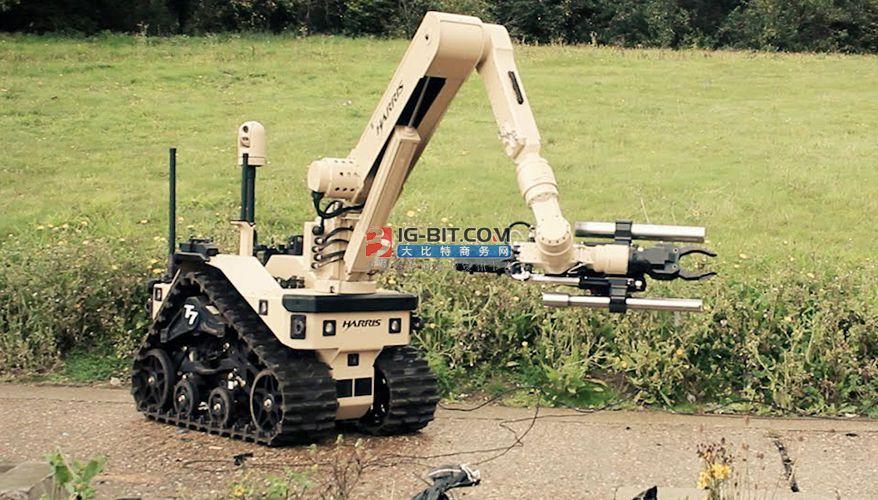 反恐機器人轉崗排爆機器人