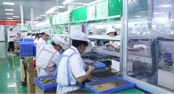 永州市领导观摩磁性元件厂力王新能源