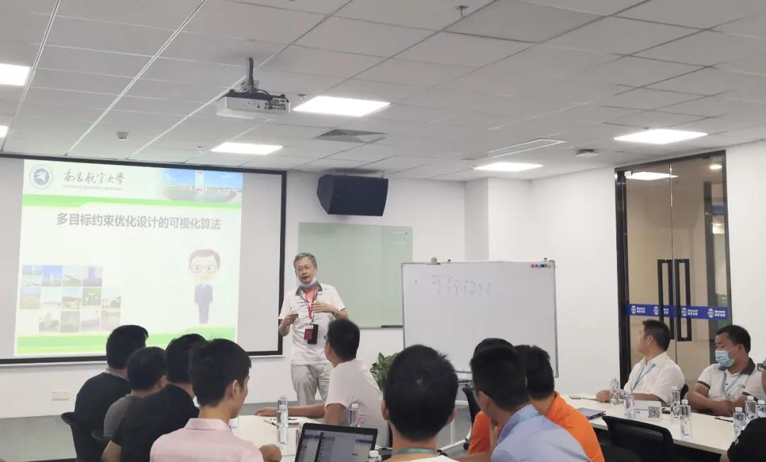 铭普光磁特邀南昌航空大学伍家驹教授进行技术交流
