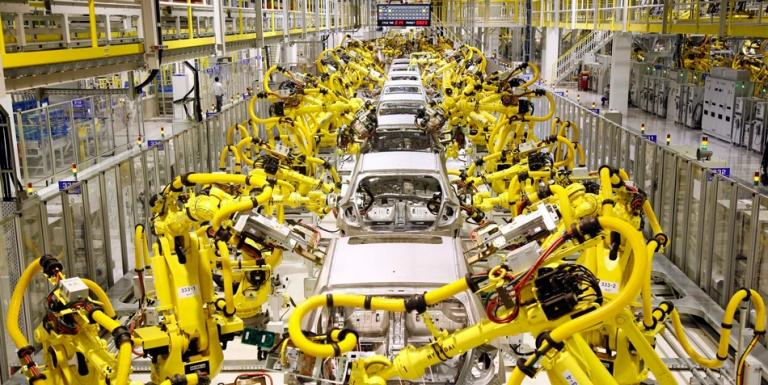 """工业机器人的""""4.0崛起"""""""