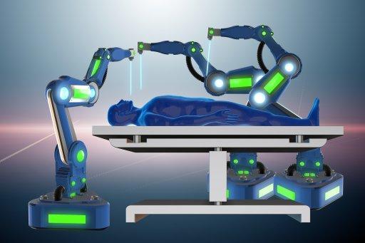 """多款医疗护理机器人成""""网红"""""""