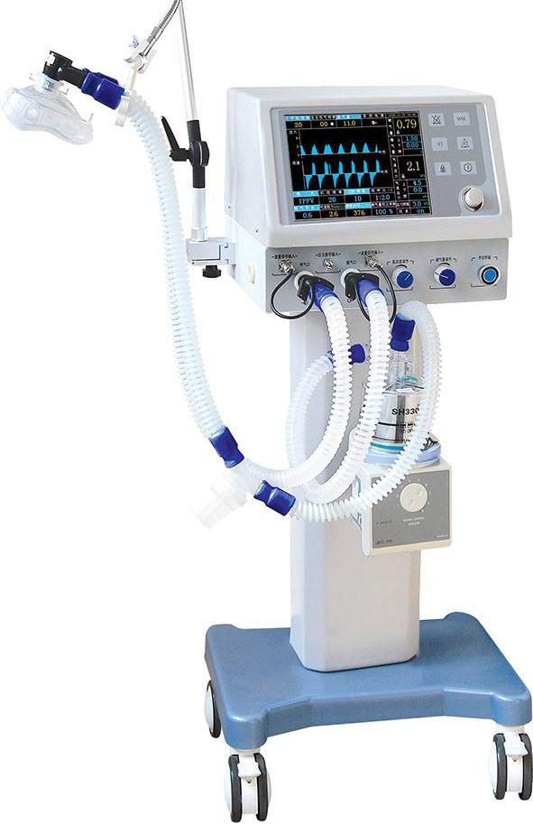 传感器在呼吸机等医疗设备的重要性