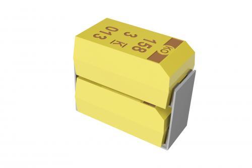 基美电子面向需要高电容和高电压的应用推出新型钽聚合物电容器