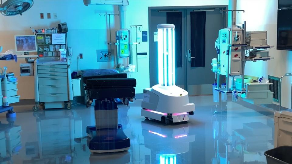 携新品消毒机器人 擎朗智能亮相2020CCE上海国际清洁展