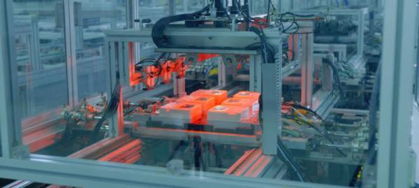 许继集团电能表自动化生产车间 单相表自动生产线 CCD拍摄单元
