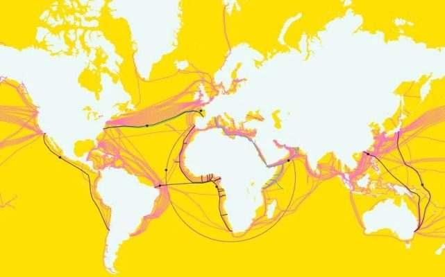 以光速傳輸98%世界互聯網流量,硅谷巨頭爭奪海底電纜控制權