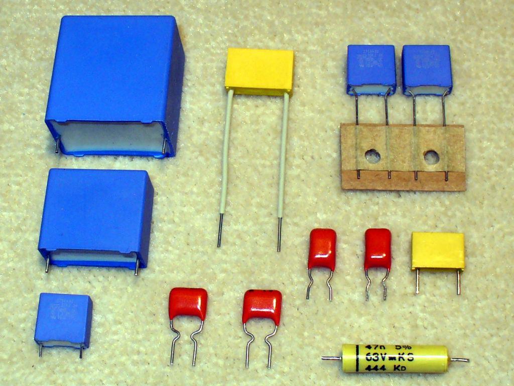 薄膜电容器的类型和它的应用领域